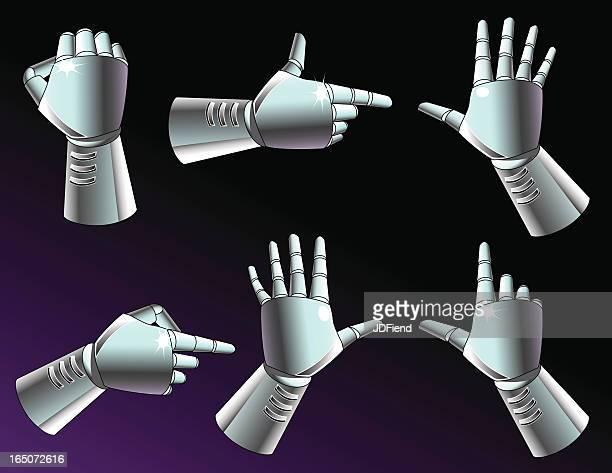 Robot Hand Gestures
