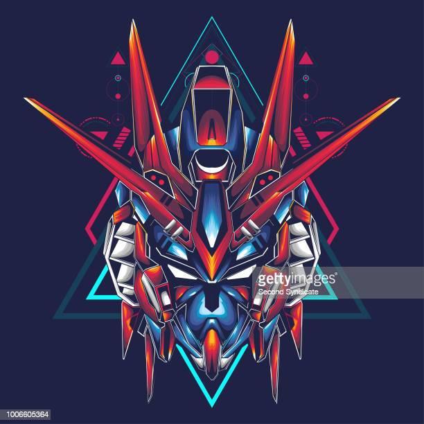 Exceptional Logo Gundam Head Vector Picture Download 17