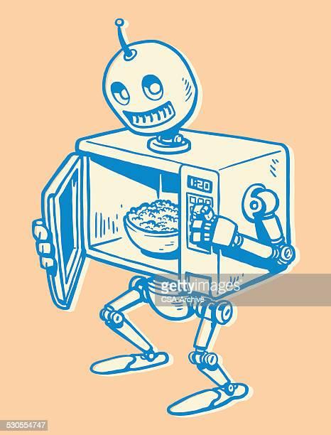 Robot Microwave