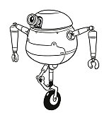 Robot on a Unicycle