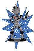 Robot with Laser Gun