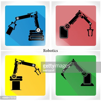 Robotics Icon App stock vector - Getty Images