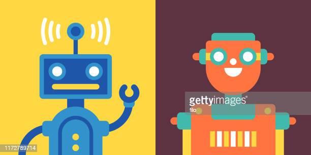 ロボット - 工業用ロボット点のイラスト素材/クリップアート素材/マンガ素材/アイコン素材