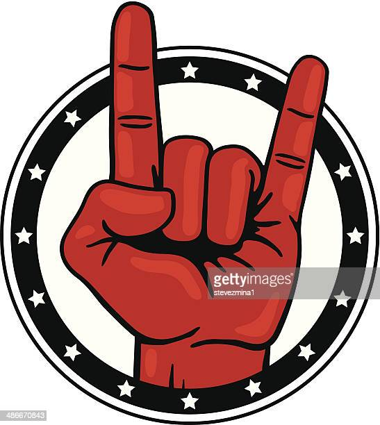 Rock and Roll Hand