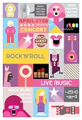 Rock Concert Poster Design