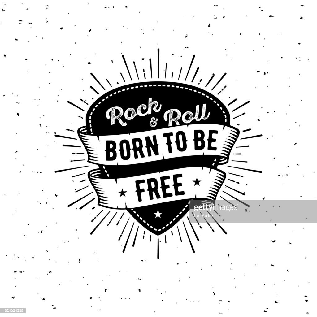 Rock n Roll born free
