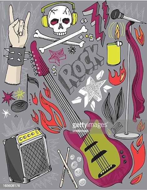 Rock n Roll rabiscos