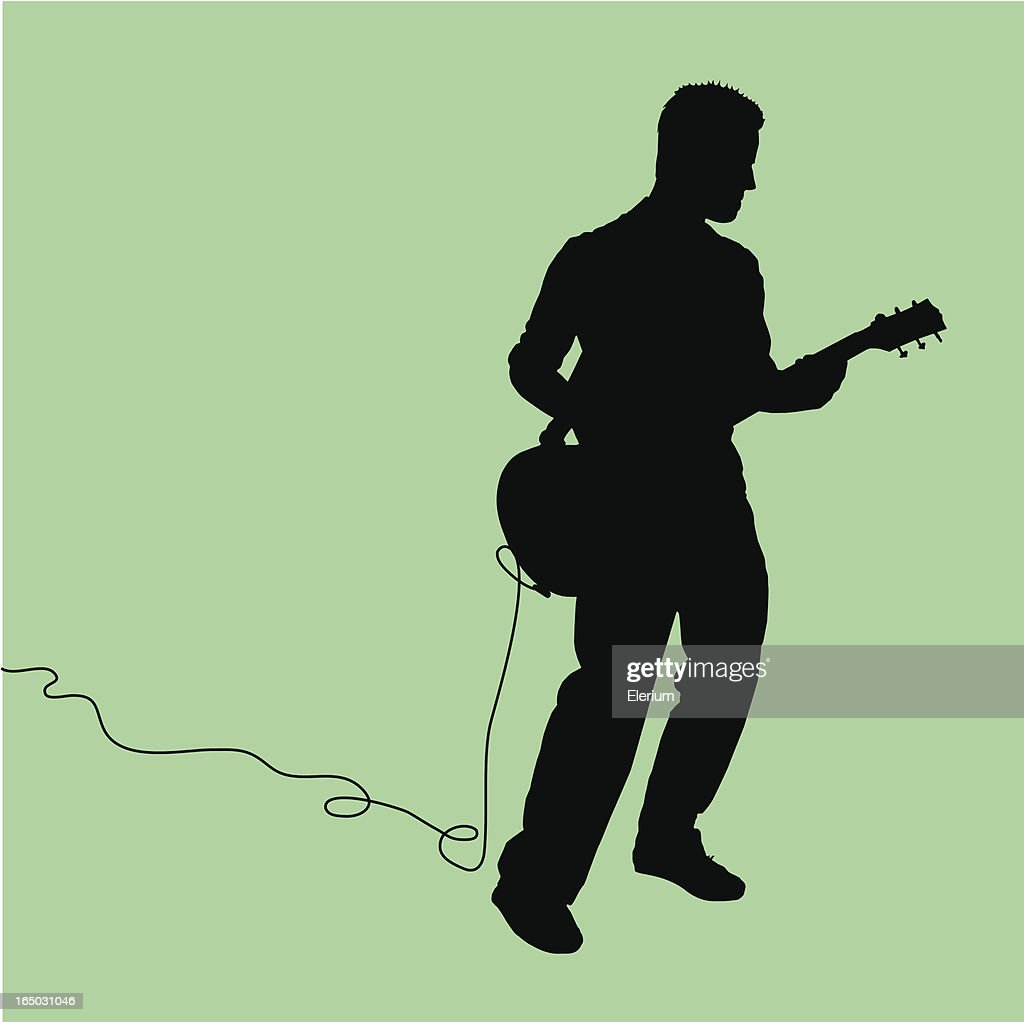 Rock Out! Guitarist Jammin'