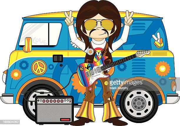 Rock Star & Camper van