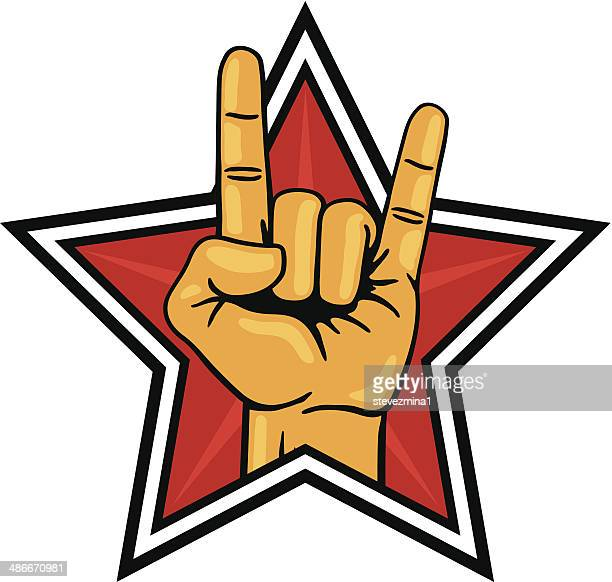 ロック star - グラムロック点のイラスト素材/クリップアート素材/マンガ素材/アイコン素材