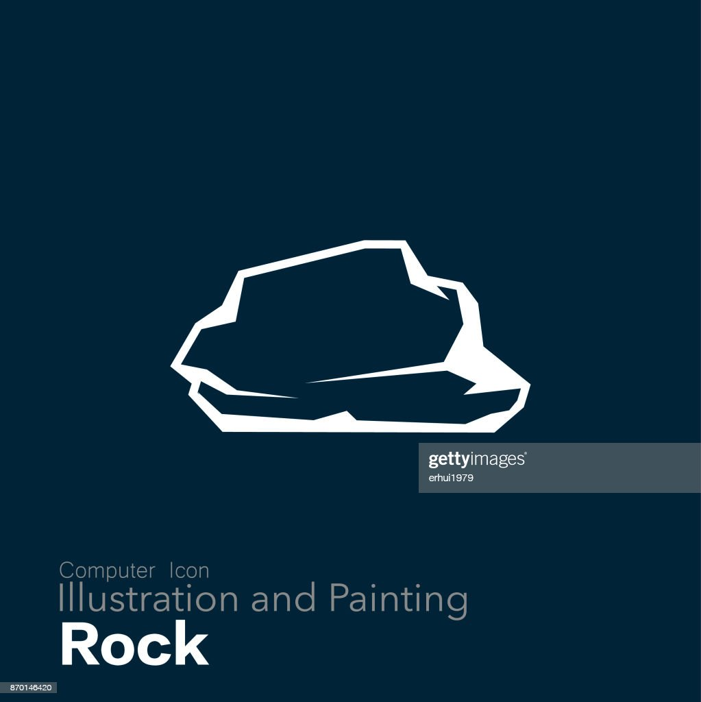 rock : stock illustration
