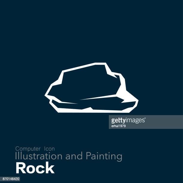 ロック - 岩点のイラスト素材/クリップアート素材/マンガ素材/アイコン素材