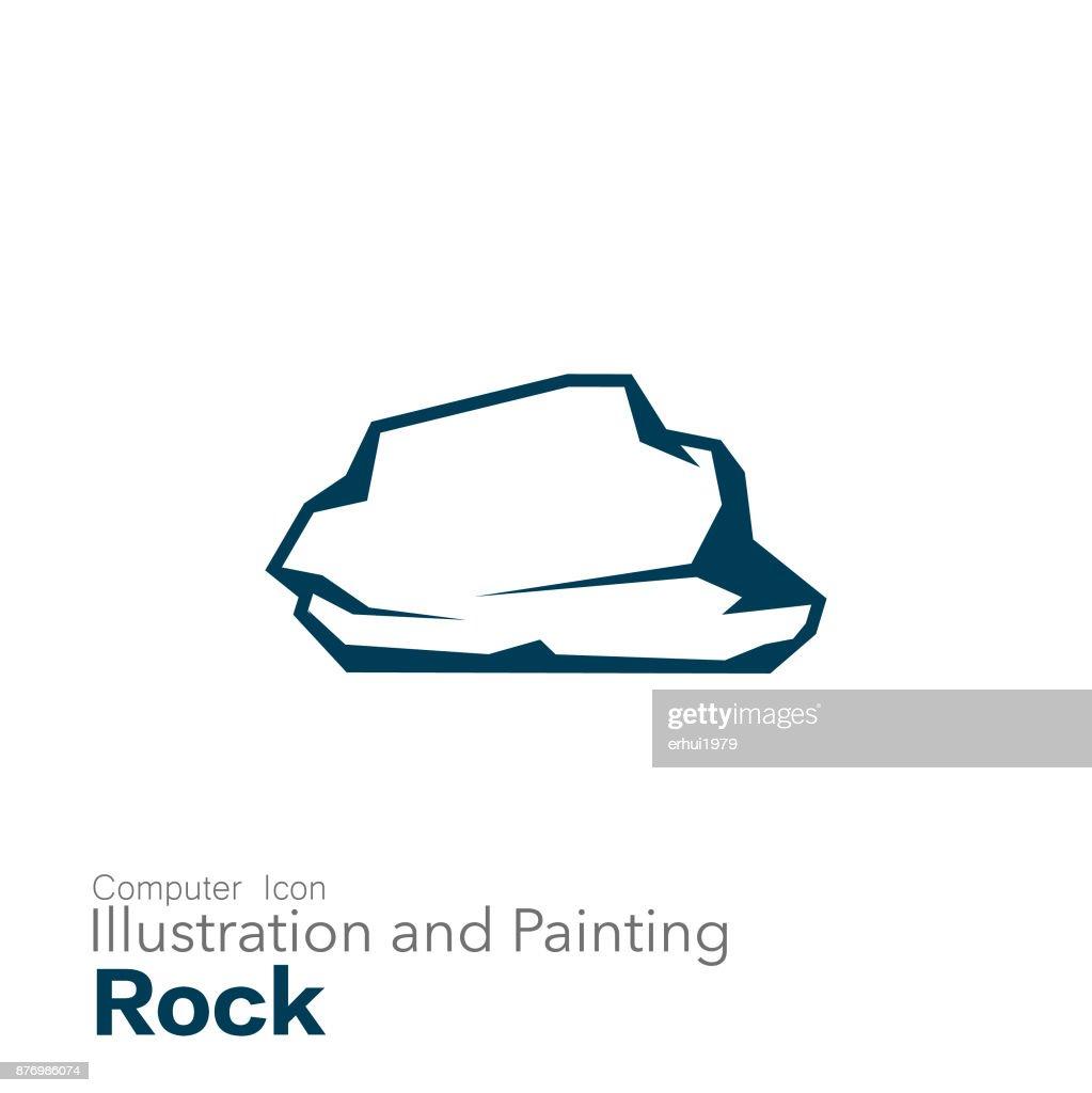rock : Stock Illustration