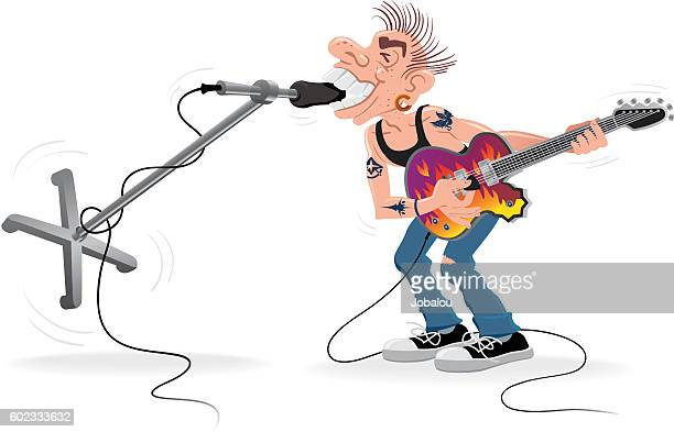 Rocker Biting Microphone