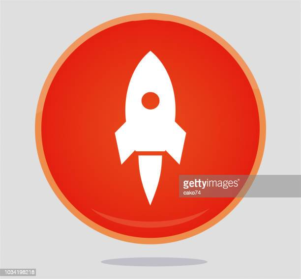 rocket icon - new business stock illustrations