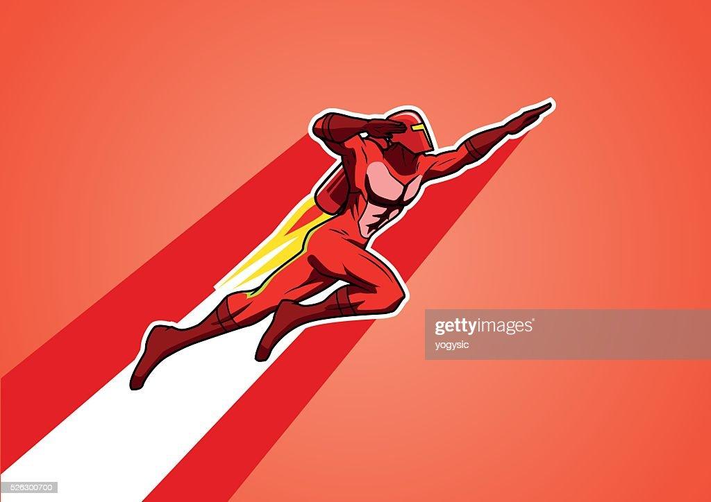 Rocket Jetpack Superhero