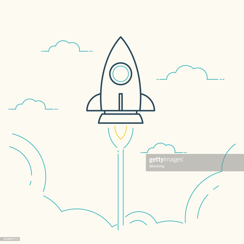 Rocket Launch - Startup Ccncept