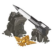 Rocket launcher and Golden insignia