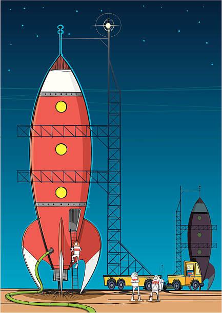 Rocket on Launch Pad