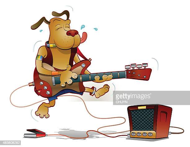 rocking all the way - bass instrument stock illustrations, clip art, cartoons, & icons