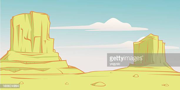 rocky desert country
