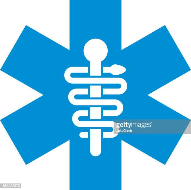 Rod Of Asclepius Stock Illustrations And Cartoons Getty Images