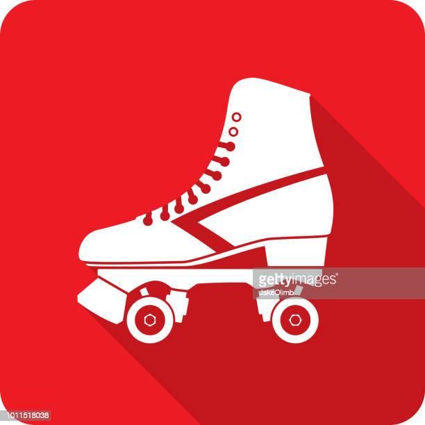 Roller Skate Icon Silhouette