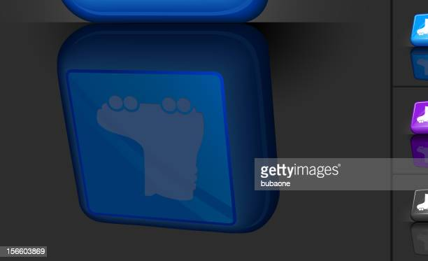 rollerskating 3D button design