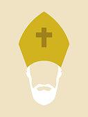 Roman Catholic Archbishop Icon