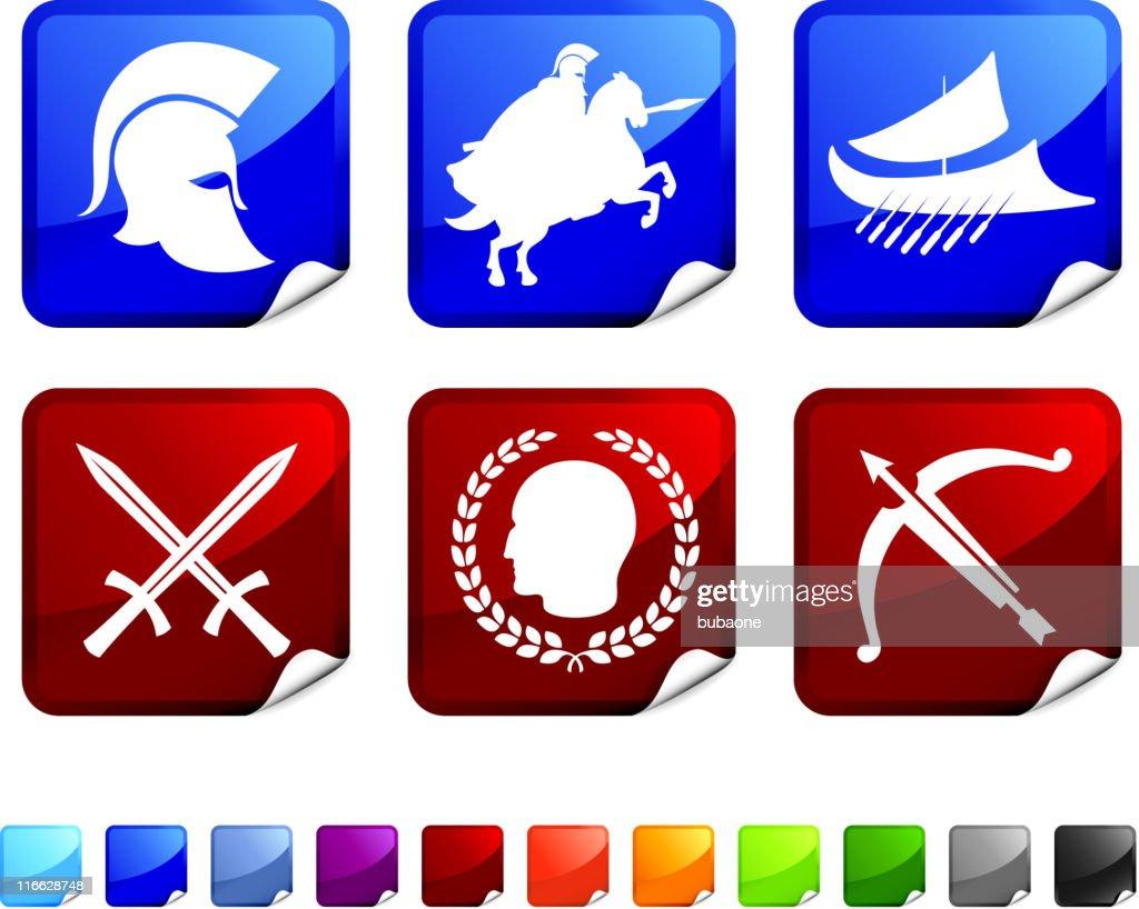Roman Military Symbols Vector Art Getty Images