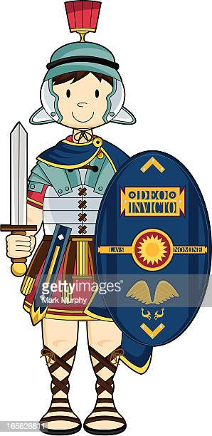 30 Top Roman Soldier Stock Illustrations, Clip art, Cartoons