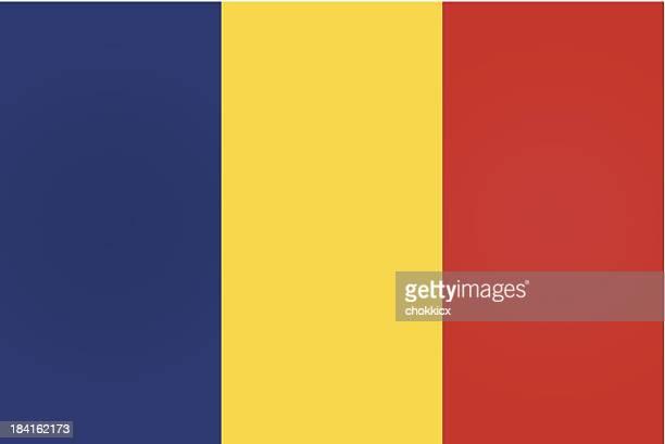 romania or romanian flag - romania stock illustrations