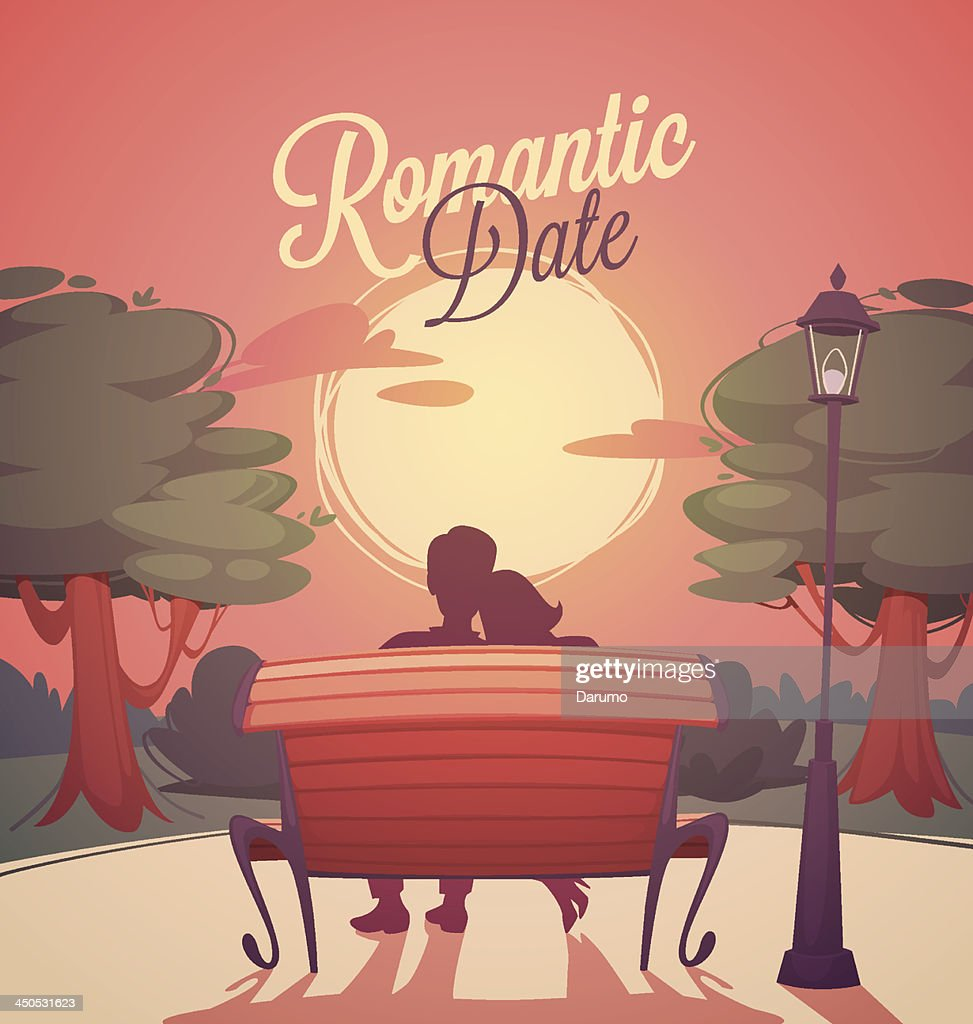 Romantic date card