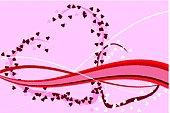 Romantic St. Valentine's Day design