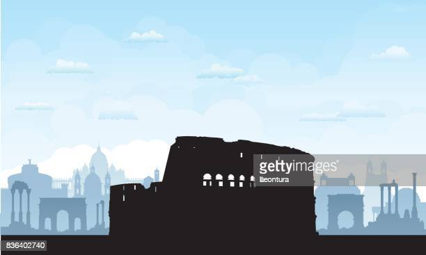 Rome (All Buildings are Separate and Complete)