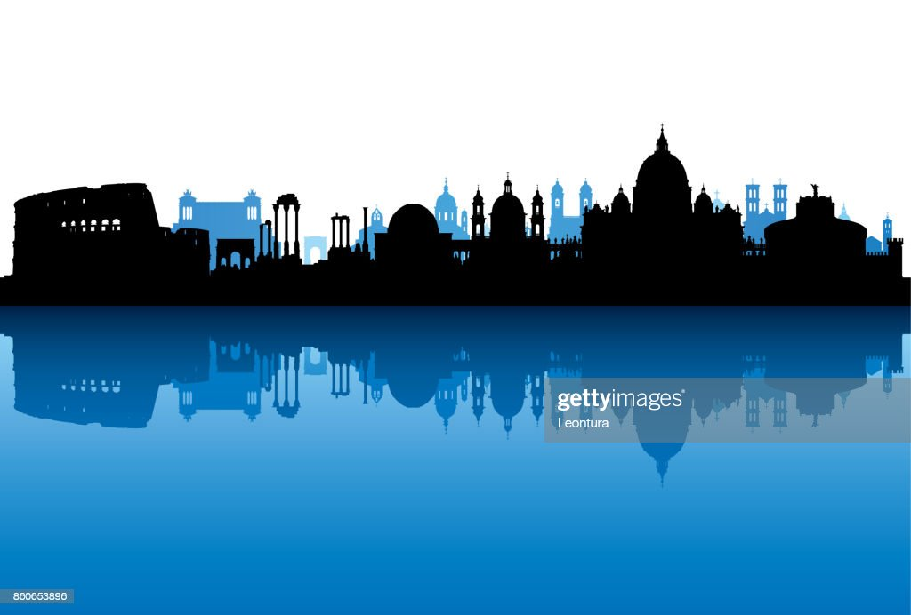 Rome (All Buildings Are Complete and Moveable) : stock illustration