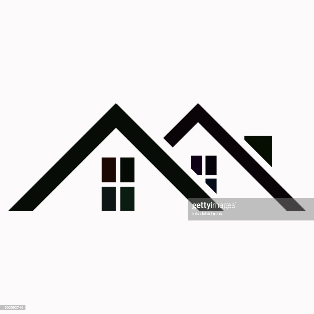 Roof vector  icon.