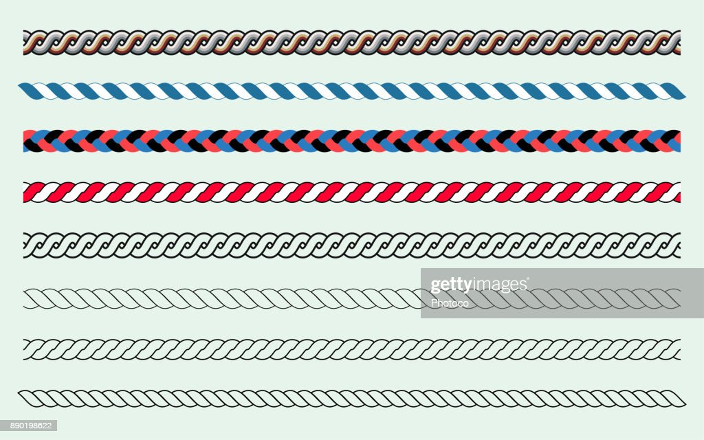 Rope Brush Set and Lines
