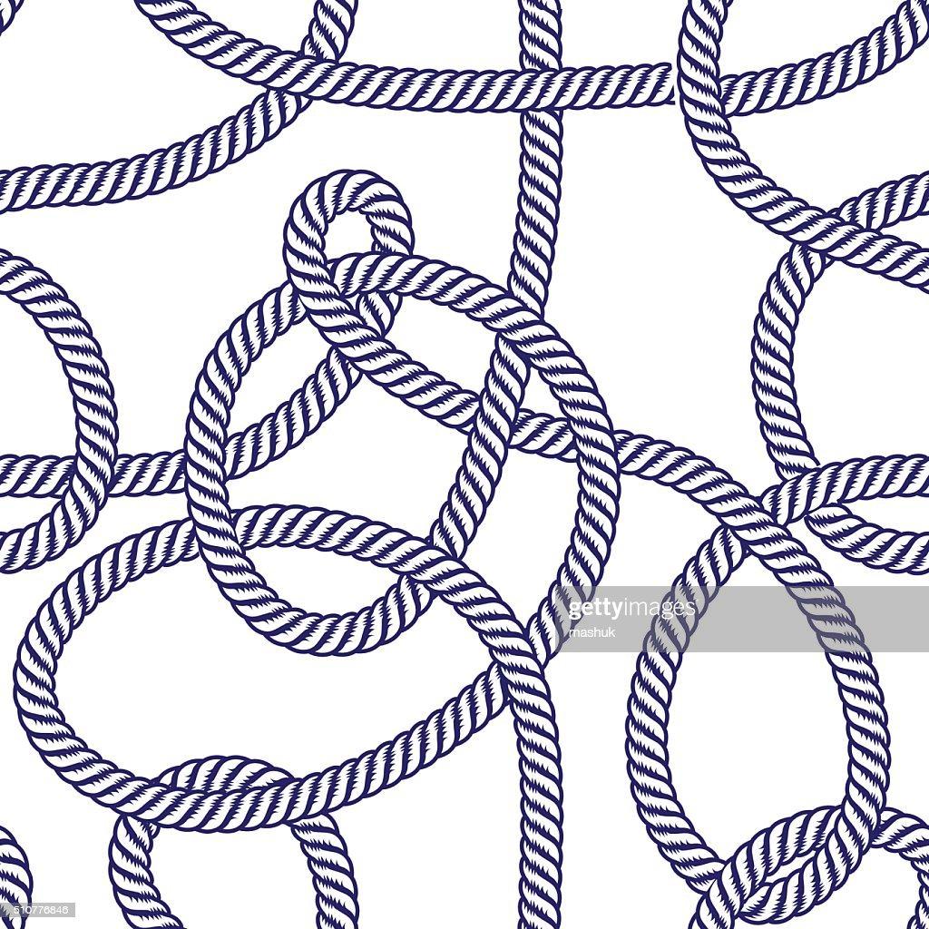 Rope seamless pattern