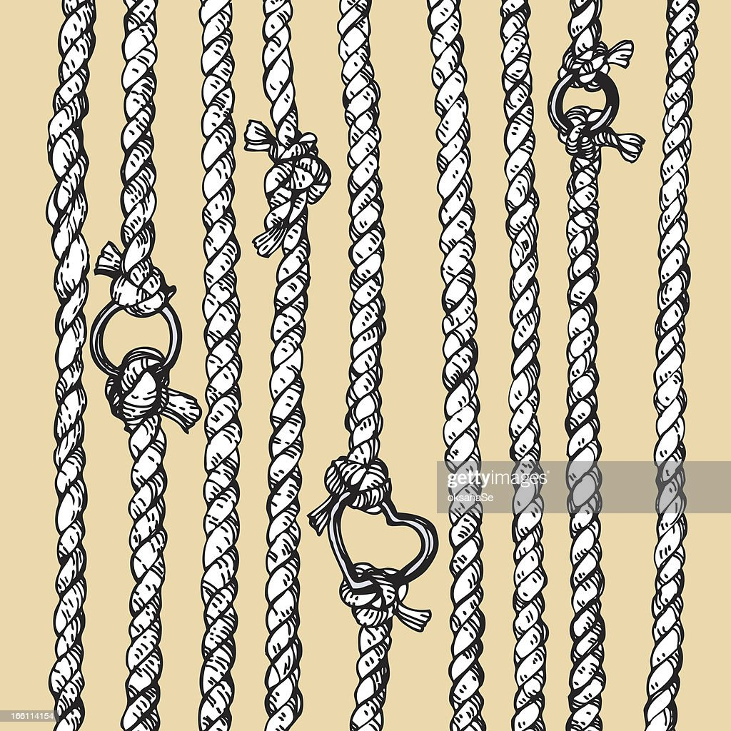 ropes with rings