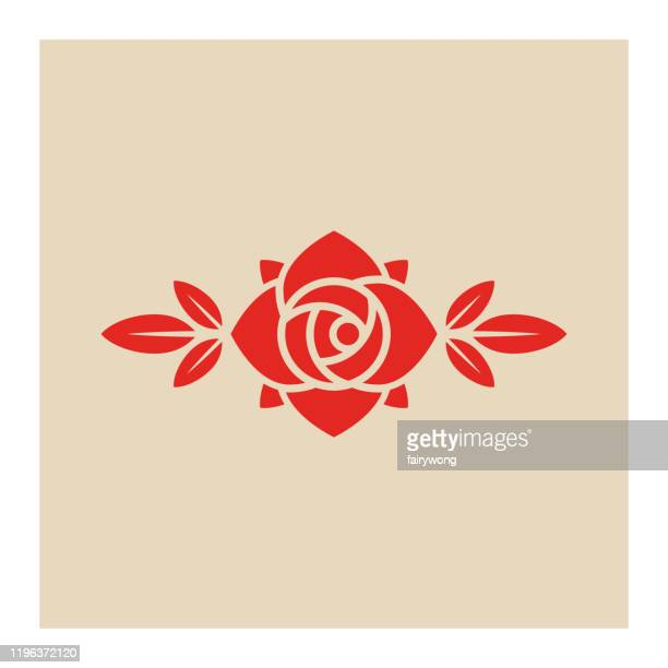 rosenblumen-ikone - rosa stock-grafiken, -clipart, -cartoons und -symbole
