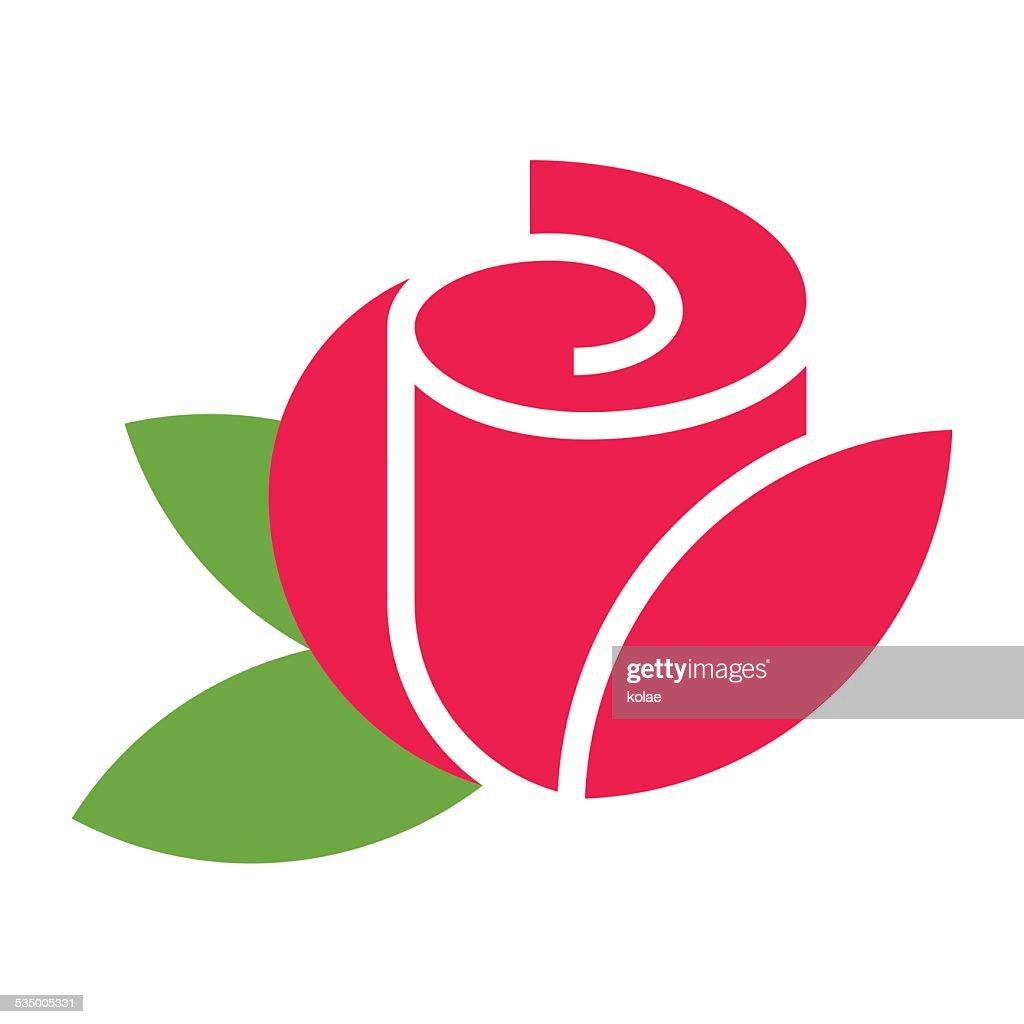 Rose - flower icon
