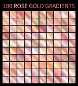 Rose Gold gradients