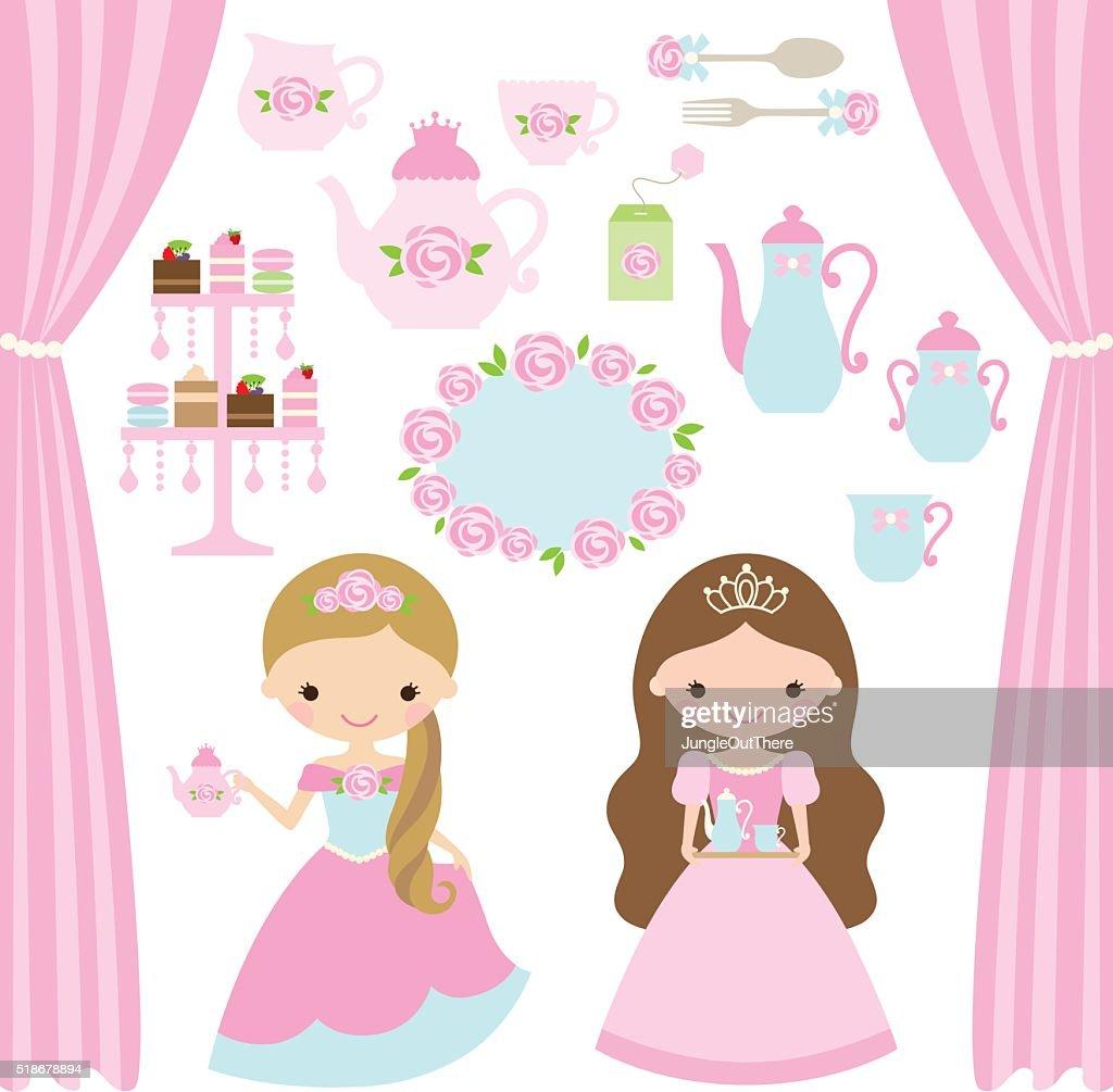 Rose Princess Tea Party