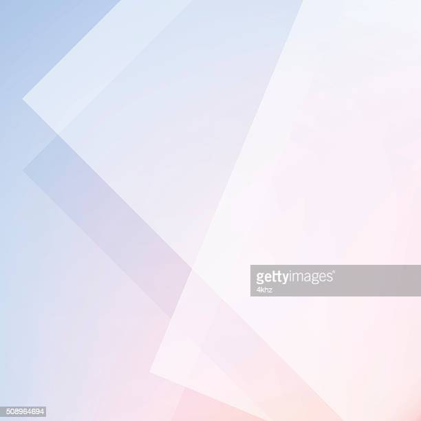 Rose Quartz And Serenity Color Minimal Abstract Stock Vector Background