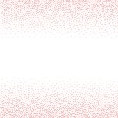 Rose quartz hearts Abstract background