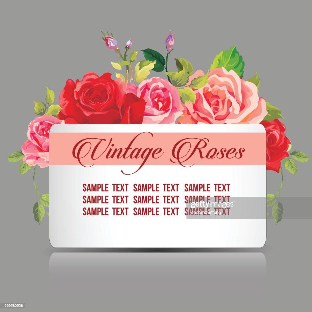 Rose Template | Roses Template Vektorgrafik Getty Images