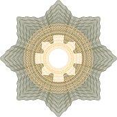 rosette decorative element