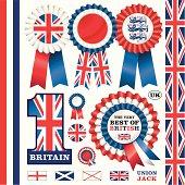 BRITISH Rosettes