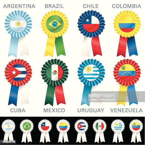 SOUTH AMERICAN Rosettes